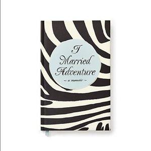 "Kate Spade ""I married adventure"" journal/notebook"